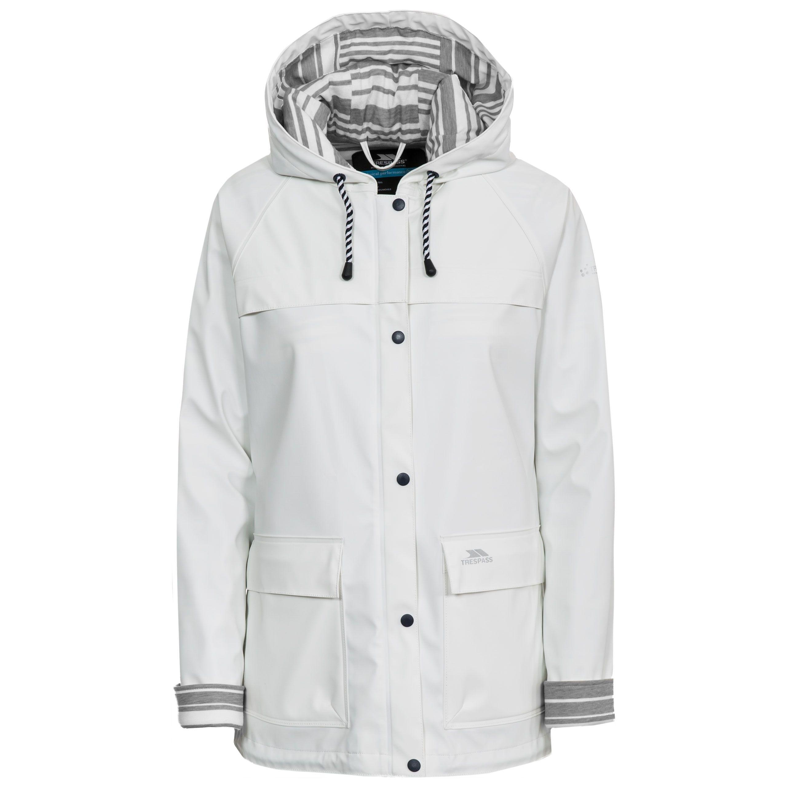 Trepass Womens Waterproof Jacket Hooded Muddle