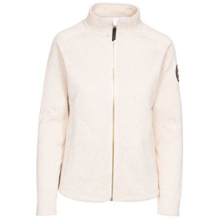 Dawn Women's DLX Fleece Jacket in White Marl