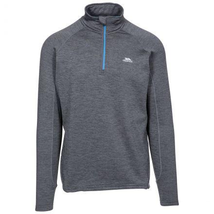 Goodwin Men's Quick Dry Long Sleeve Active Top in Dark Grey