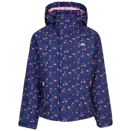 Trespass Girls' Waterproof Jacket Hopeful Dark Blue