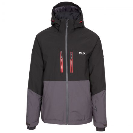 Nelson Men's DLX Ski Jacket with RECCO in Grey