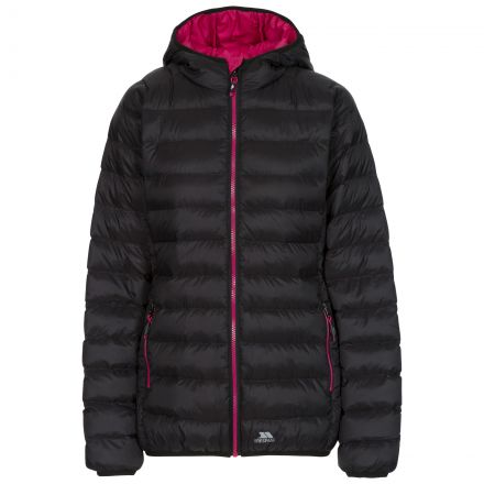 Abigail Women's Casual Jacket in Black, Front view on mannequin
