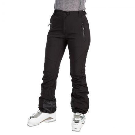 Amaura Women's Softshell Ski Trousers in Black