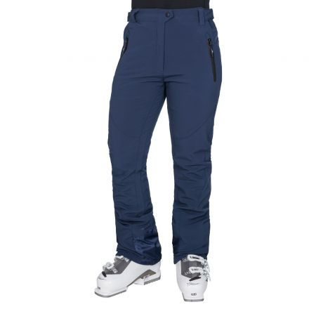 Amaura Women's Softshell Ski Trousers in Navy