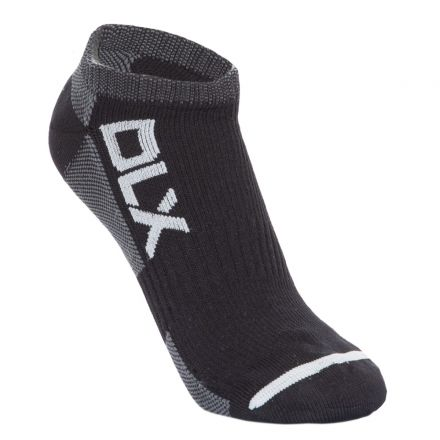 Amphibian Adults' DLX Waterproof Trainer Socks in Black