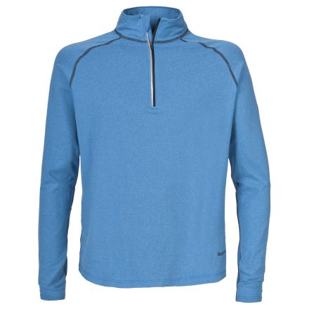ARLO Mens Long Sleeve Active Top in Blue