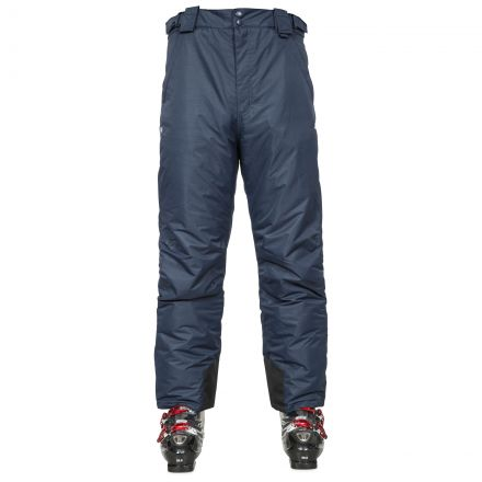 Bezzy Men's Salopettes in Navy, Front view on model