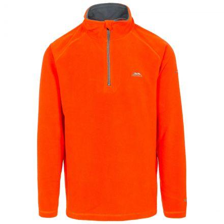 Blackford Men's 1/2 Zip Microfleece in Orange