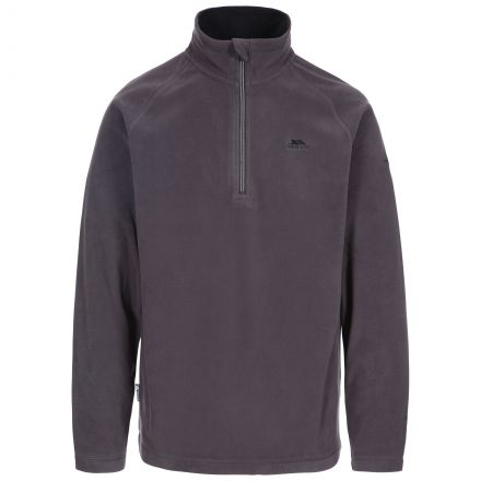 Blackford Men's 1/2 Zip Microfleece in Grey