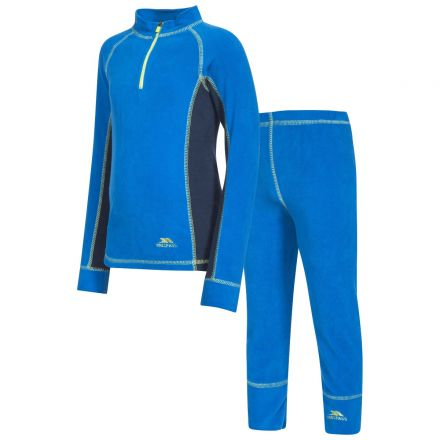 Bubbles Kids' Thermals in Blue