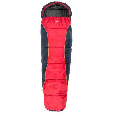 Trespass Kids Sleeping Bag 3 Season Lightweight Bunka Red