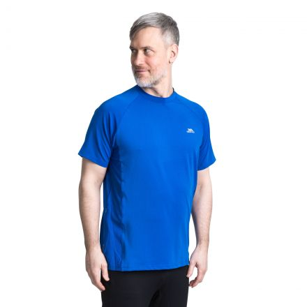 Cacama Men's Quick Drying Breathable Stretchy Active T-Shirt
