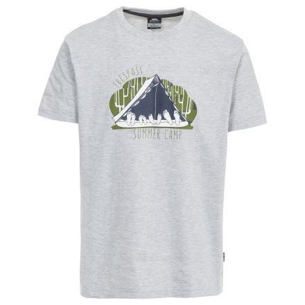 Camp Men's Casual Printed Short Sleeved T-Shirt