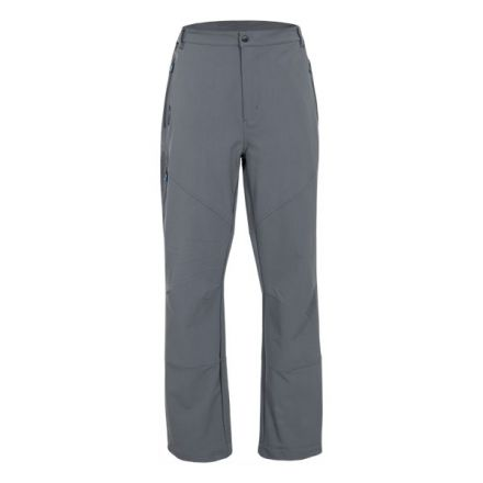 Canyon Men's DLX Walking Trousers in Grey, Front view on mannequin