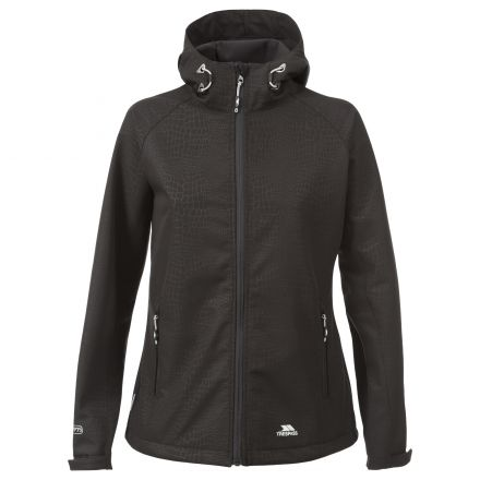 Cheska Womens Hooded Softshell Jacket