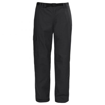 Clifton Men's Thermal Cargo Trousers in Black