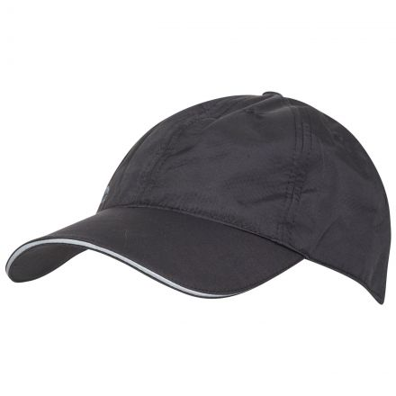 Cosgrove Adults' Active Baseball Cap  in Black, Hat at angled view