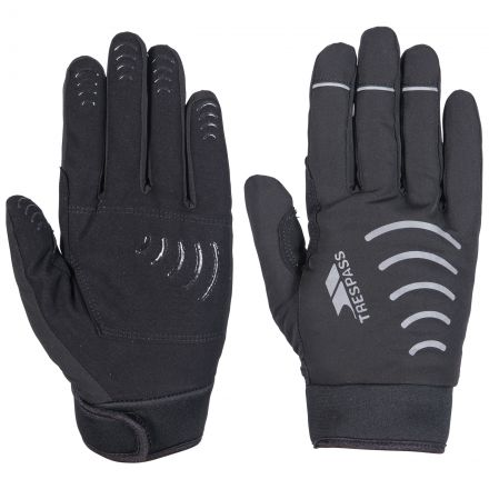 Crossover Adults' Waterproof Gloves in Black