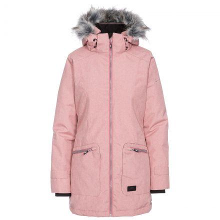 Day by Day Women's Waterproof Parka Jacket in Pink