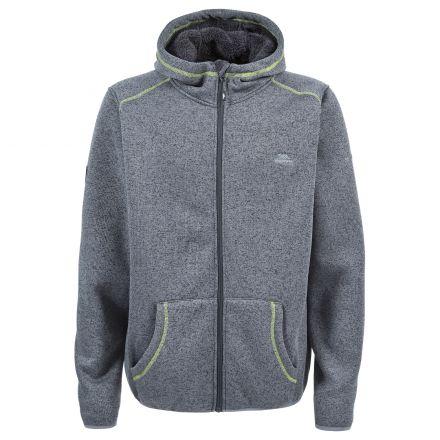 Dilan Men's Fleece Hoodie in Grey