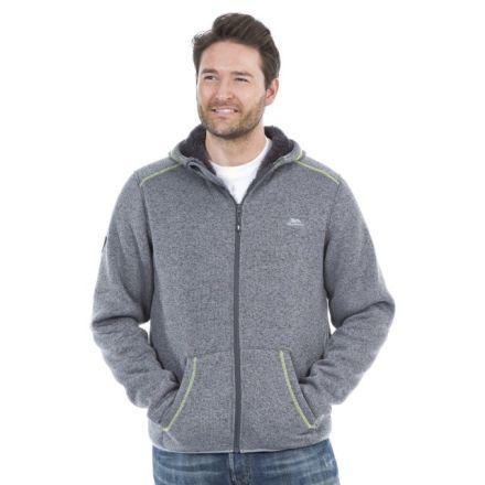 Dilan Men's Full Zip Fleece Hoodie