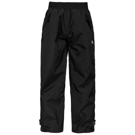 Echo Kids' Black Waterproof Trousers