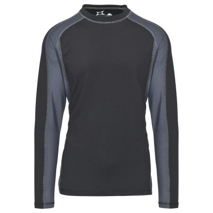 Explore Men's Thermal Top in Black