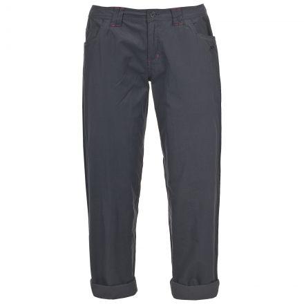 Suria Women's Casual Chino Trousers in Grey