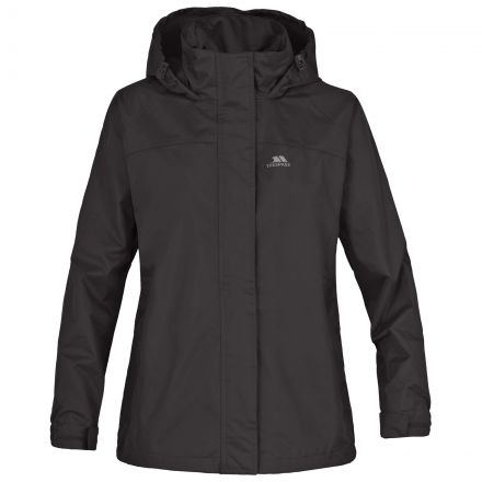 Nasu Girls' Waterproof Hooded Windproof Jacket