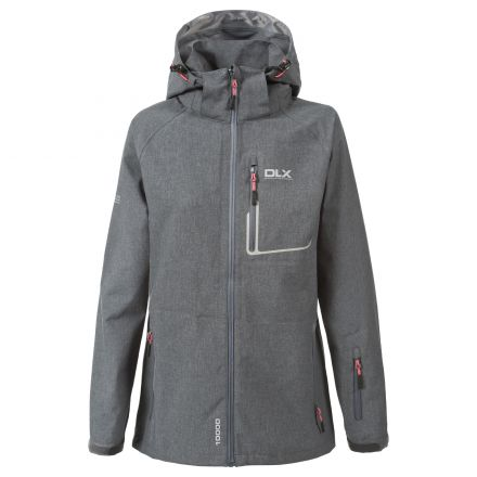 Gita Women's DLX High Performance Softshell Jacket in Grey