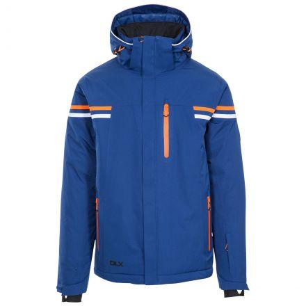 Gonzalez Men's DLX Waterproof RECCO Ski Jacket in Navy