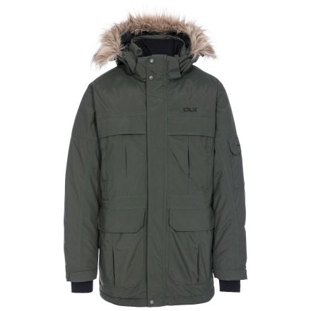 Highland Men's DLX Waterproof Parka Down Insulated Jacket