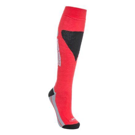 Hack Adults' Tube Socks in Red