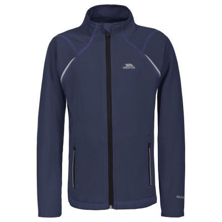 Harbird Kids' Full Zip Fleece Jacket in Navy