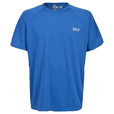 Harland Men's DLX Active Gym T-Shirt in Blue