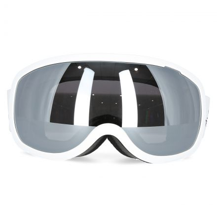 Hawkeye Adults' Ski Goggles in White, Front view