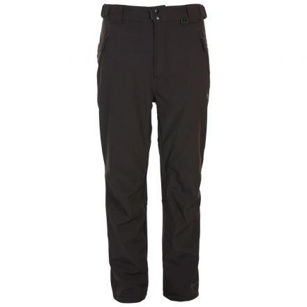Hemic Men's Water Resistant Softshell Trousers in Black