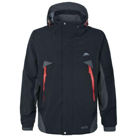 Henry Mens Waterproof Jacket in Black