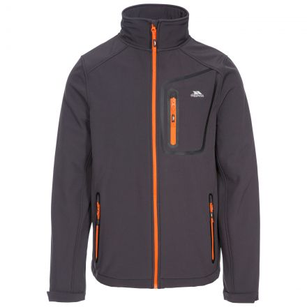 Hotham Men's Lightweight Softshell Jacket in Grey