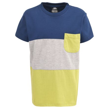 Jarvis Kids' Casual Striped T-shirt in Navy