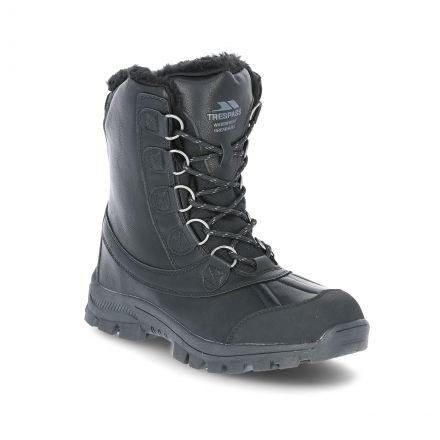 Kareem Men's Snow Boots in Black