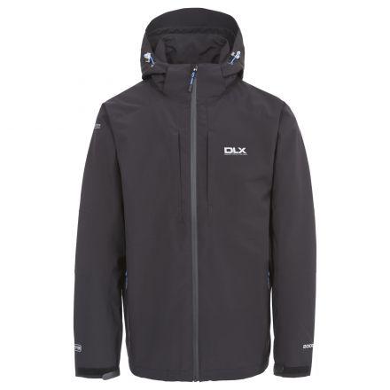 DLX Mens Waterproof Jacket High Performance Kumar Black