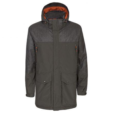 Larken Mens DLX Waterproof Jacket in Khaki