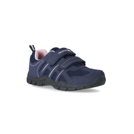 Lomaa Kids' Velcro Trainers in Navy