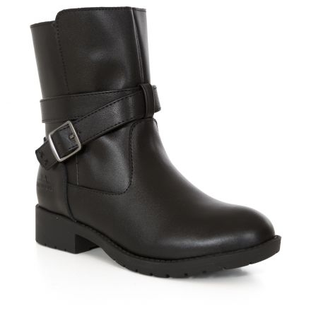 Louiza Girls Leather Ankle Boots