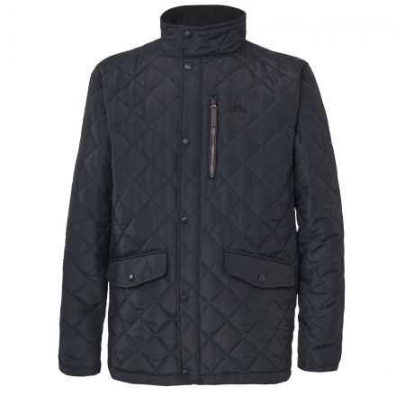 Argyle Mens Quilted Jacket