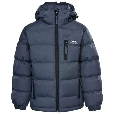 Tuff Boys' Padded Casual Jacket in Grey
