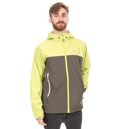 Waylon Men's Waterproof Jacket in Neon Green