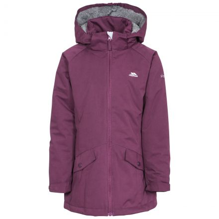 Moonstar Girls' Insulated Longer Length Waterproof Jacket