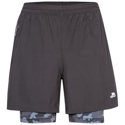 Patterson Mens Active Shorts with Inner Shorts